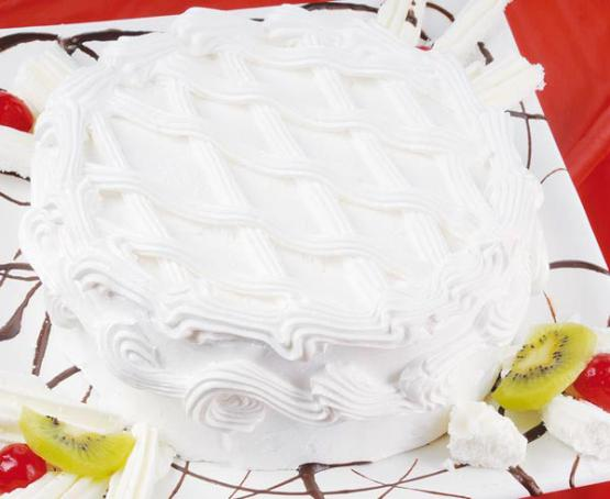 Torta con baño merengue italiano